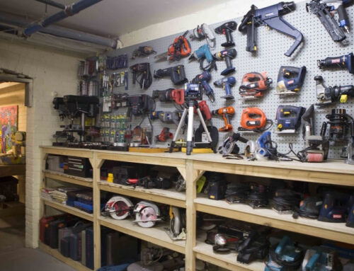 Proposed Island Tool Library & Workshop